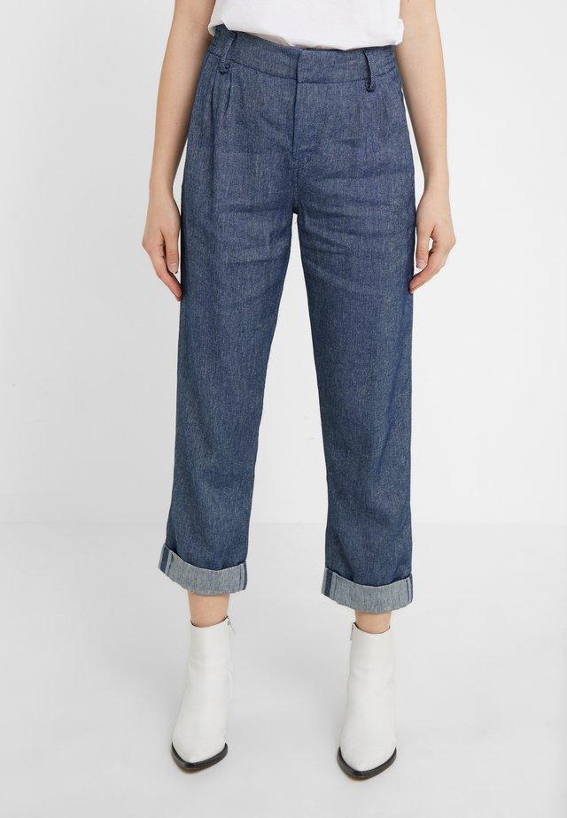 DISPATCH - Trousers - denim blue