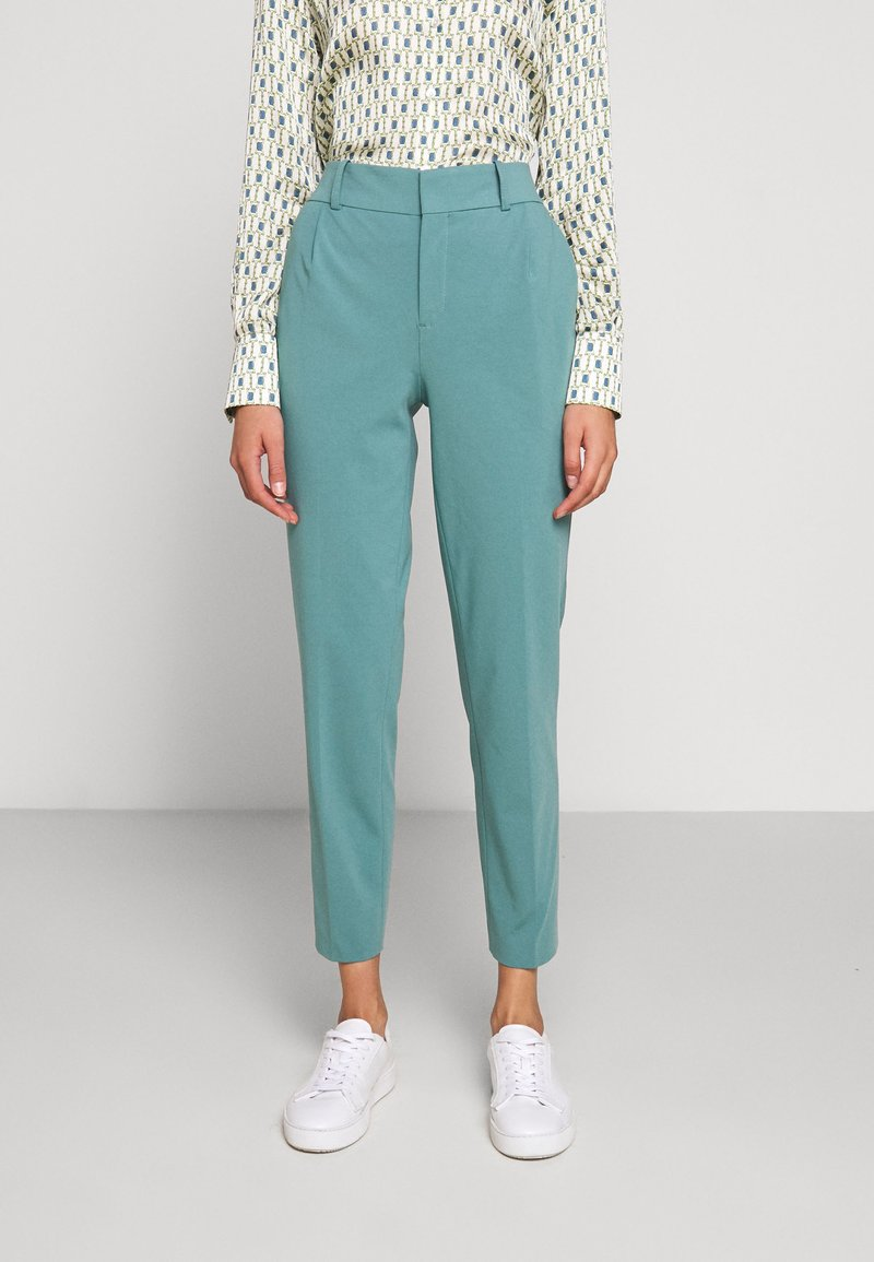 DRYKORN - JOB - Trousers - turquoise