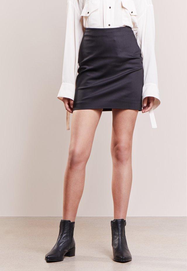 NAJA - Pencil skirt - black