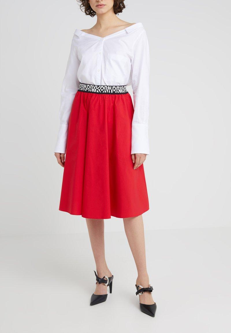 DRYKORN - CARLOTTA - A-line skirt - red