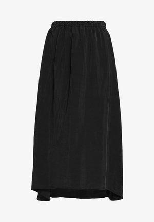 RAHEL - Áčková sukně - black