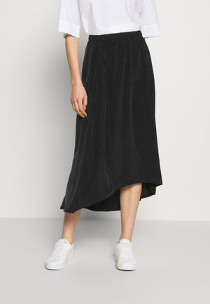 RAHEL - A-line skirt - black