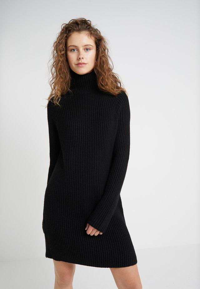 ARWENIA - Gebreide jurk - black