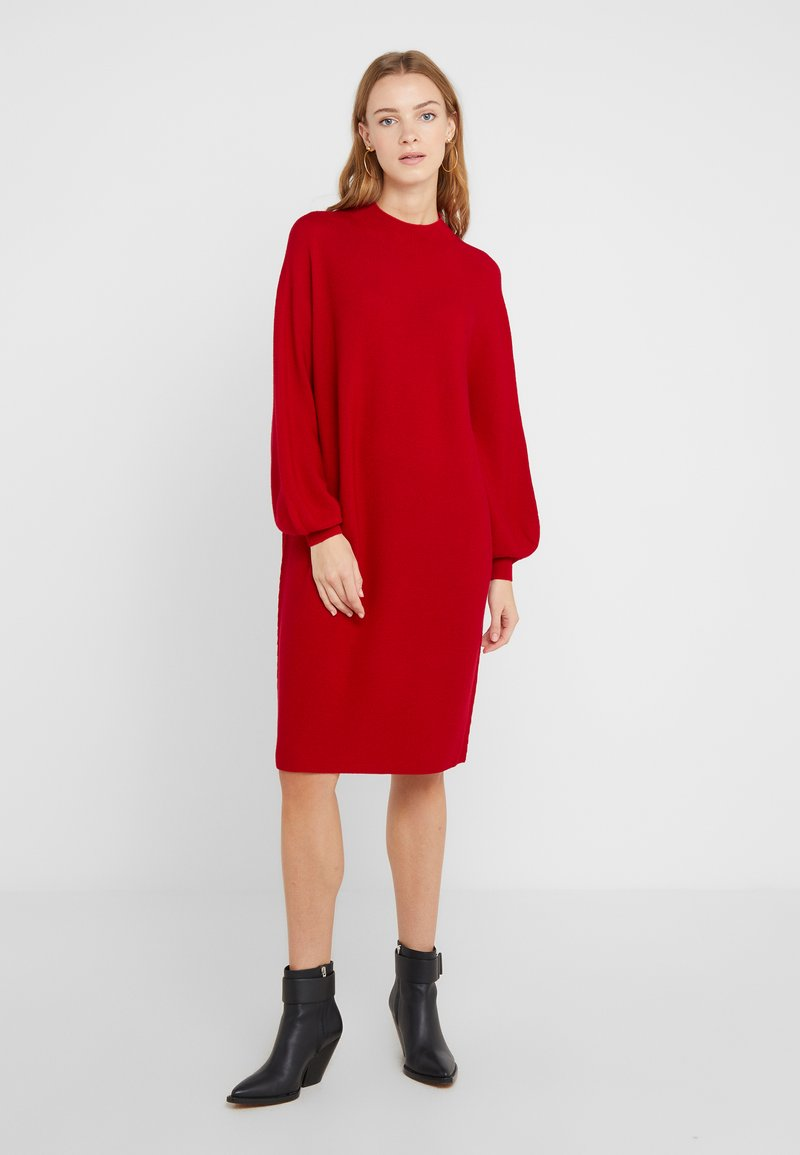DRYKORN - MARISAL - Robe pull - red
