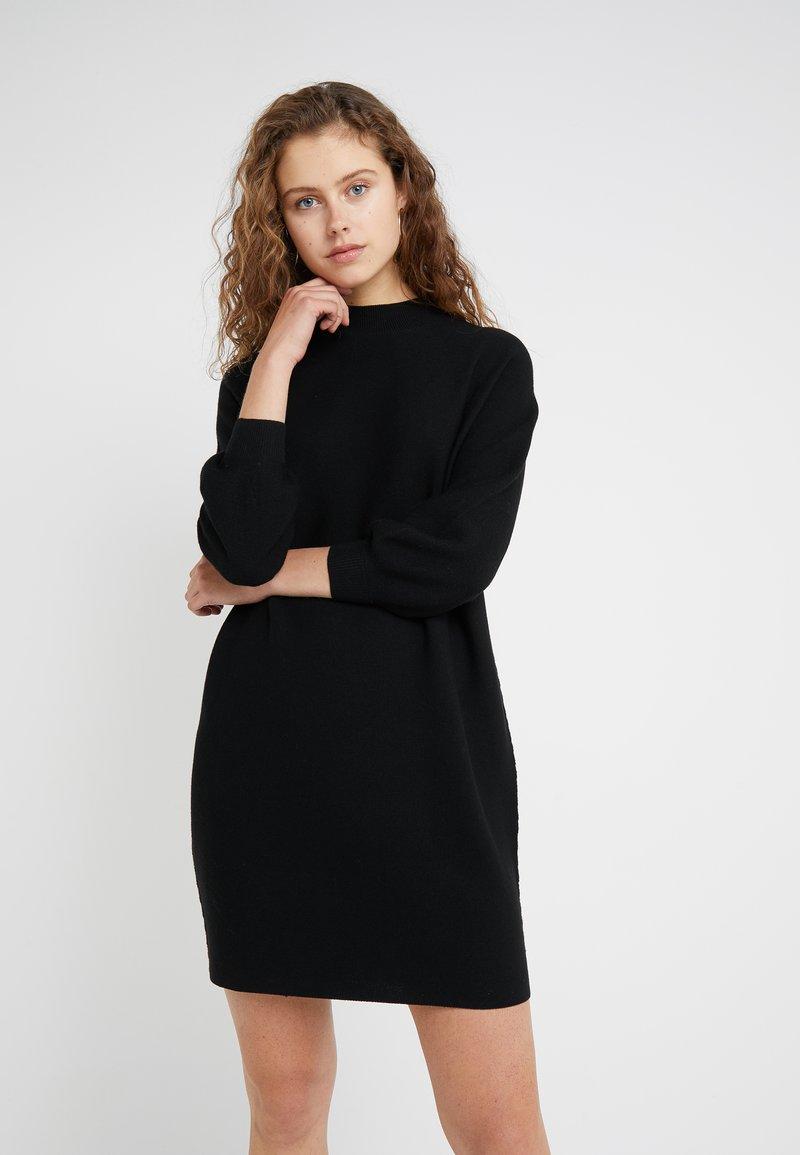 DRYKORN - MARISAL - Stickad klänning - black