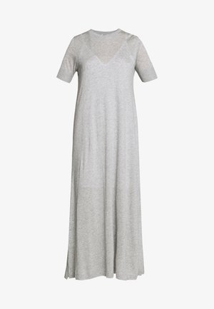JANNIE - Robe longue - grey melange