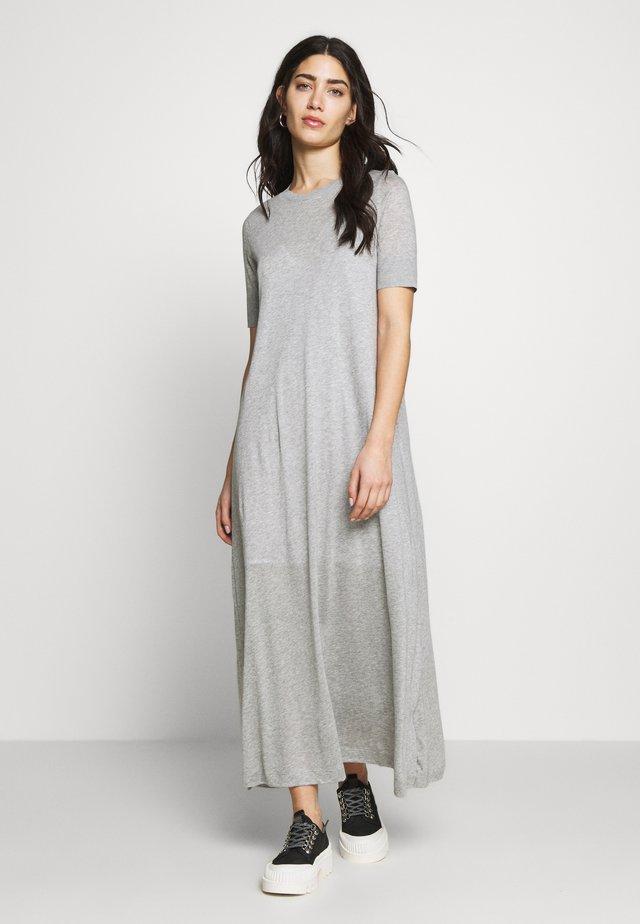 JANNIE - Maxiklänning - grey melange
