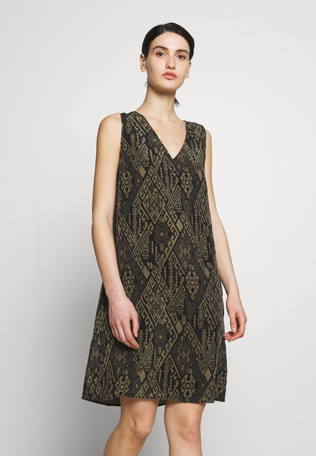 LANIA - Day dress - olive