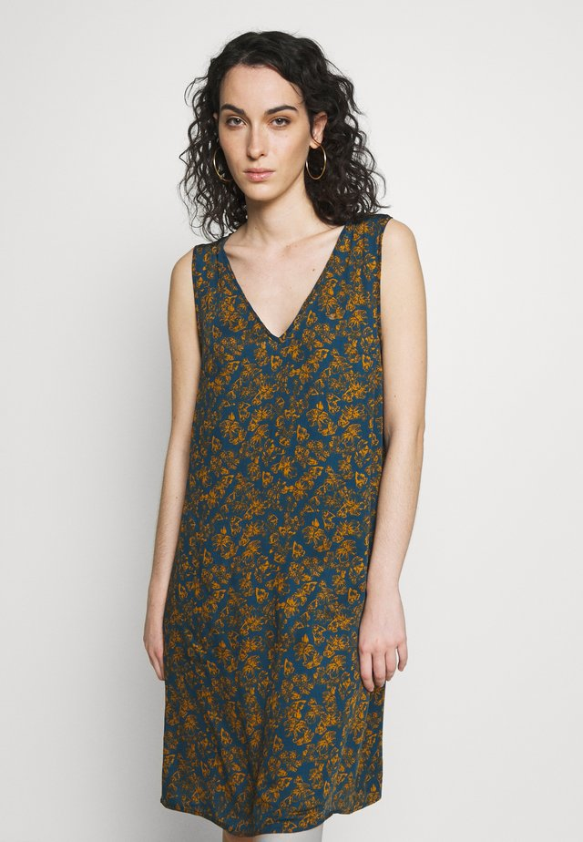 LANIA - Day dress - petrol