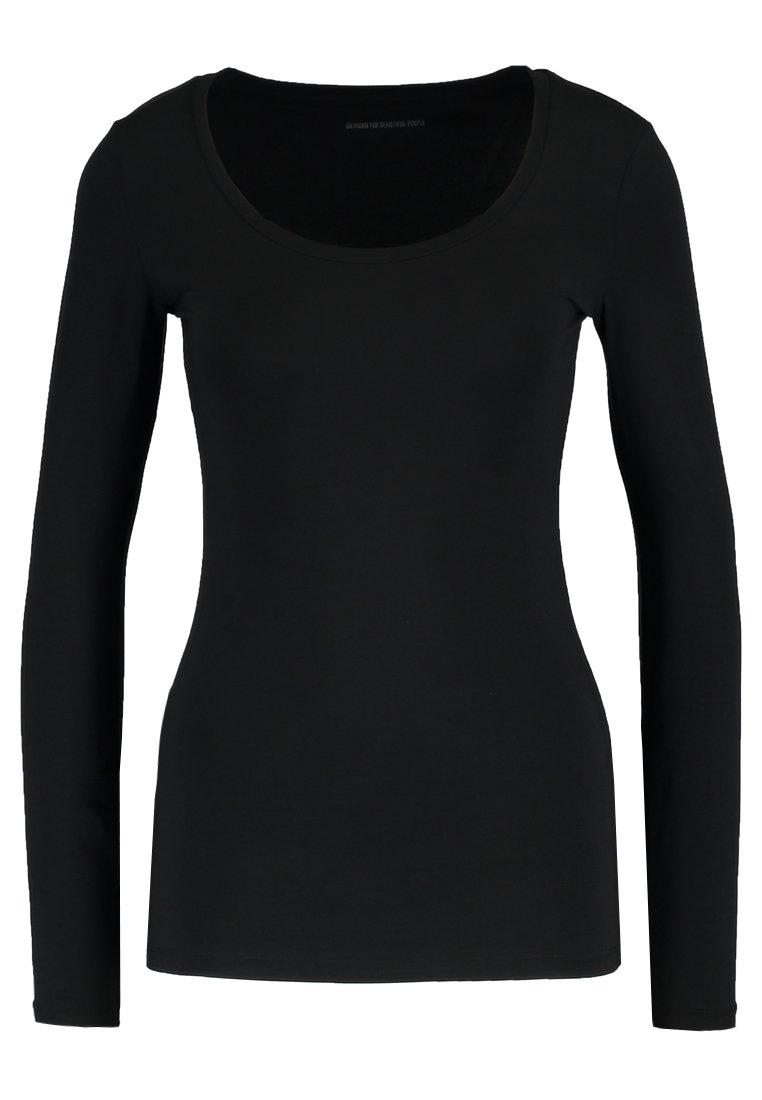 DRYKORN SELIMA - Bluzka z długim rękawem - black