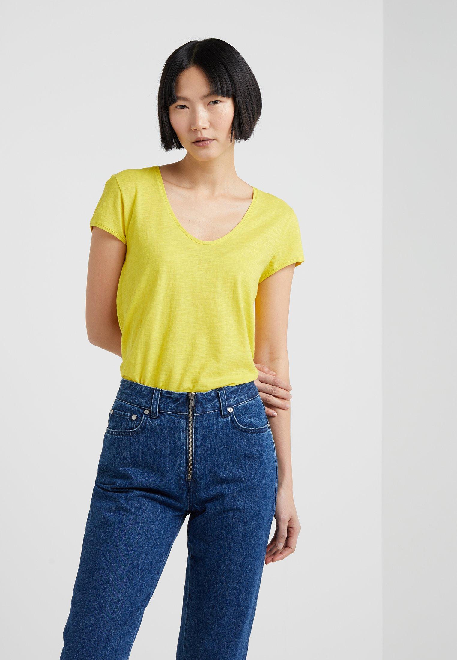 Gelb Basique Drykorn Drykorn AviviT shirt 54c3qSLARj
