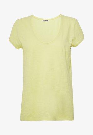 AVIVI - Jednoduché triko - lemon