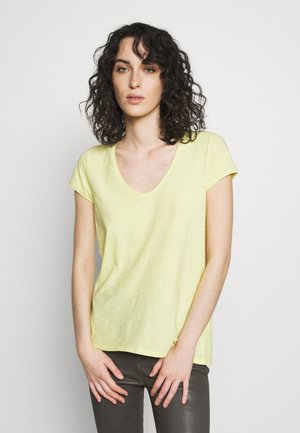 AVIVI - T-shirt basique - lemon