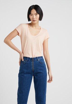 AVIVI - T-shirt basique - apricot