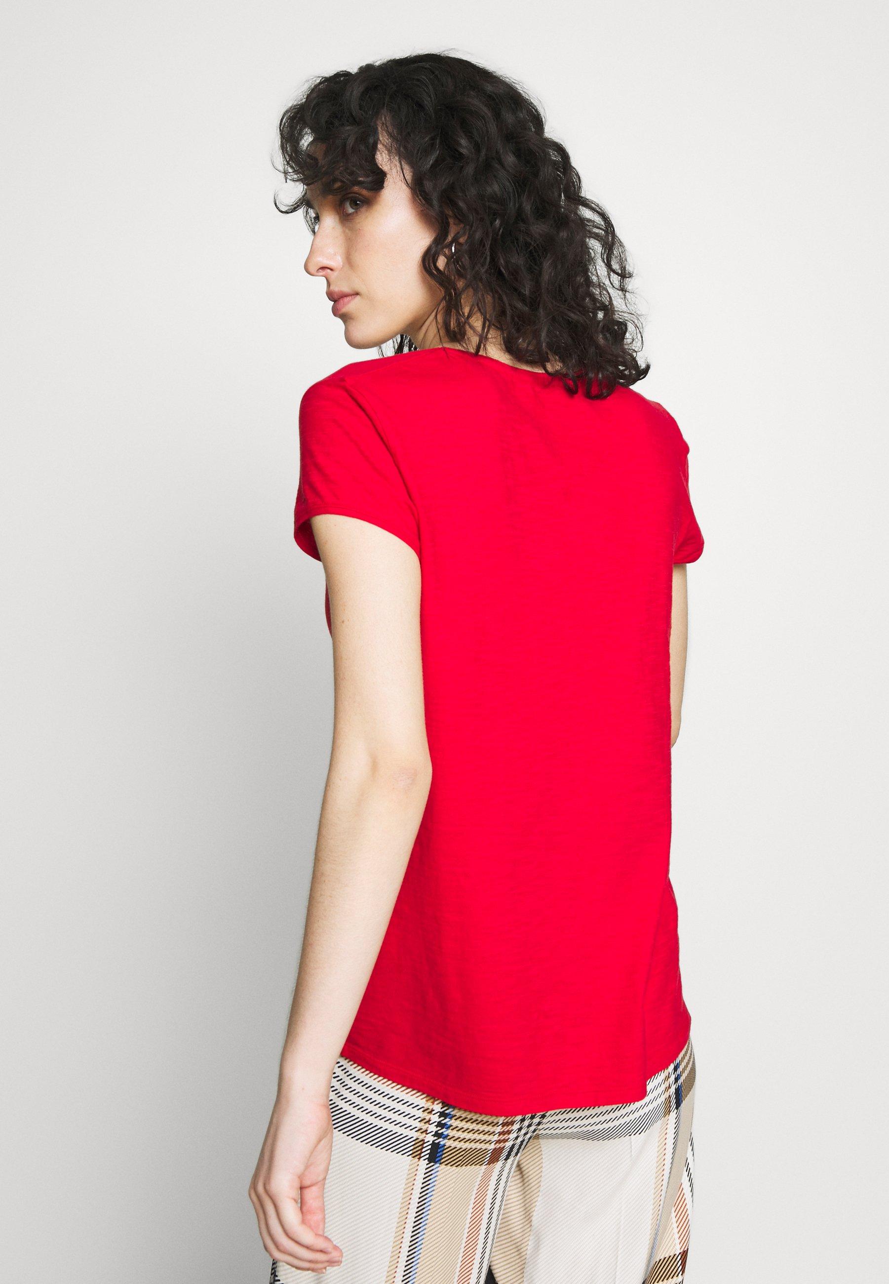 DRYKORN AVIVI - T-shirts - red
