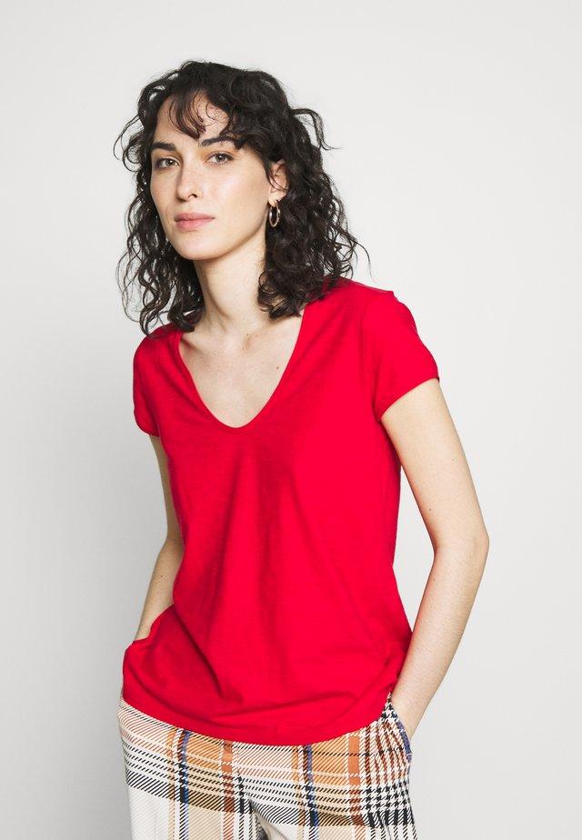 AVIVI - T-shirt basic - red