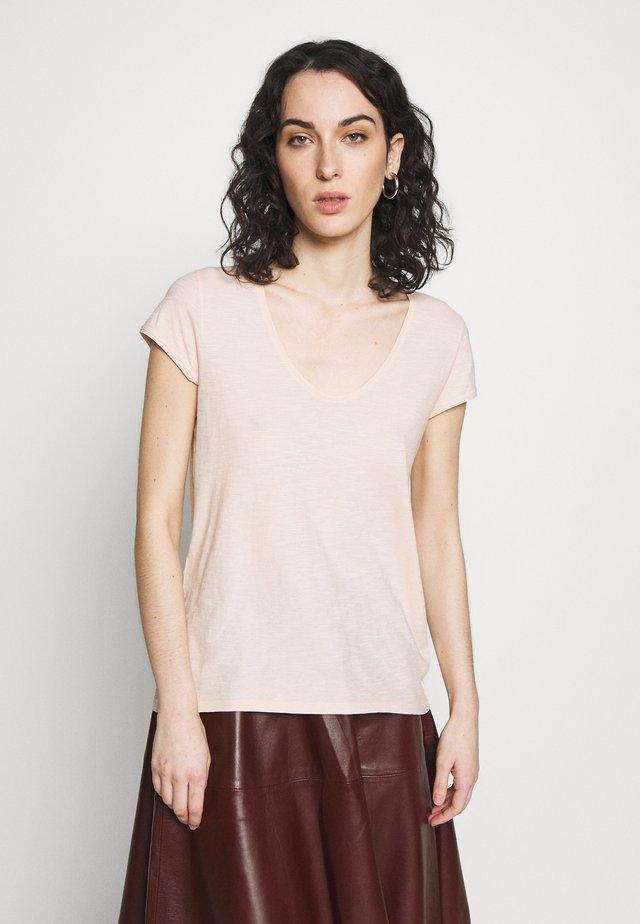 AVIVI - T-shirt basique - powder