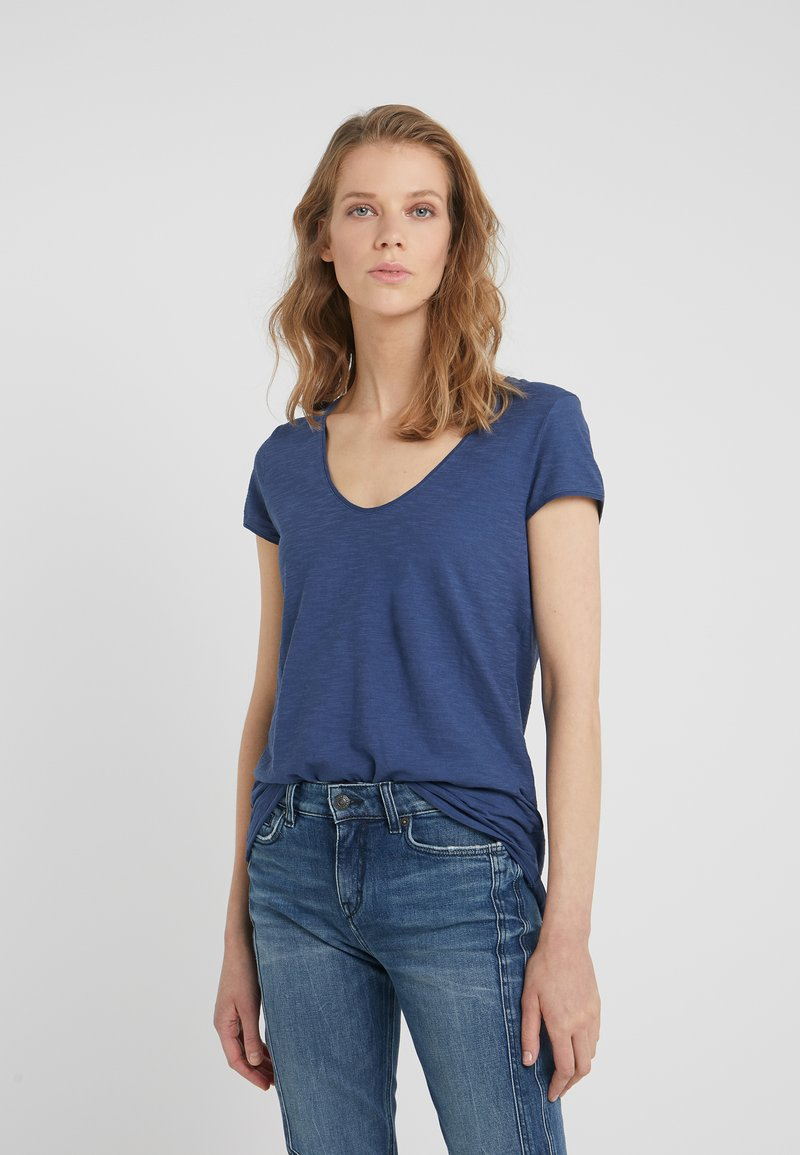 DRYKORN - AVIVI - T-Shirt basic - blue
