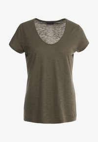 DRYKORN - AVIVI - T-shirt basic - dark khaki - 3