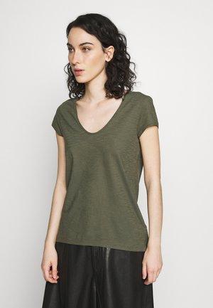 AVIVI - T-shirt basique - olive