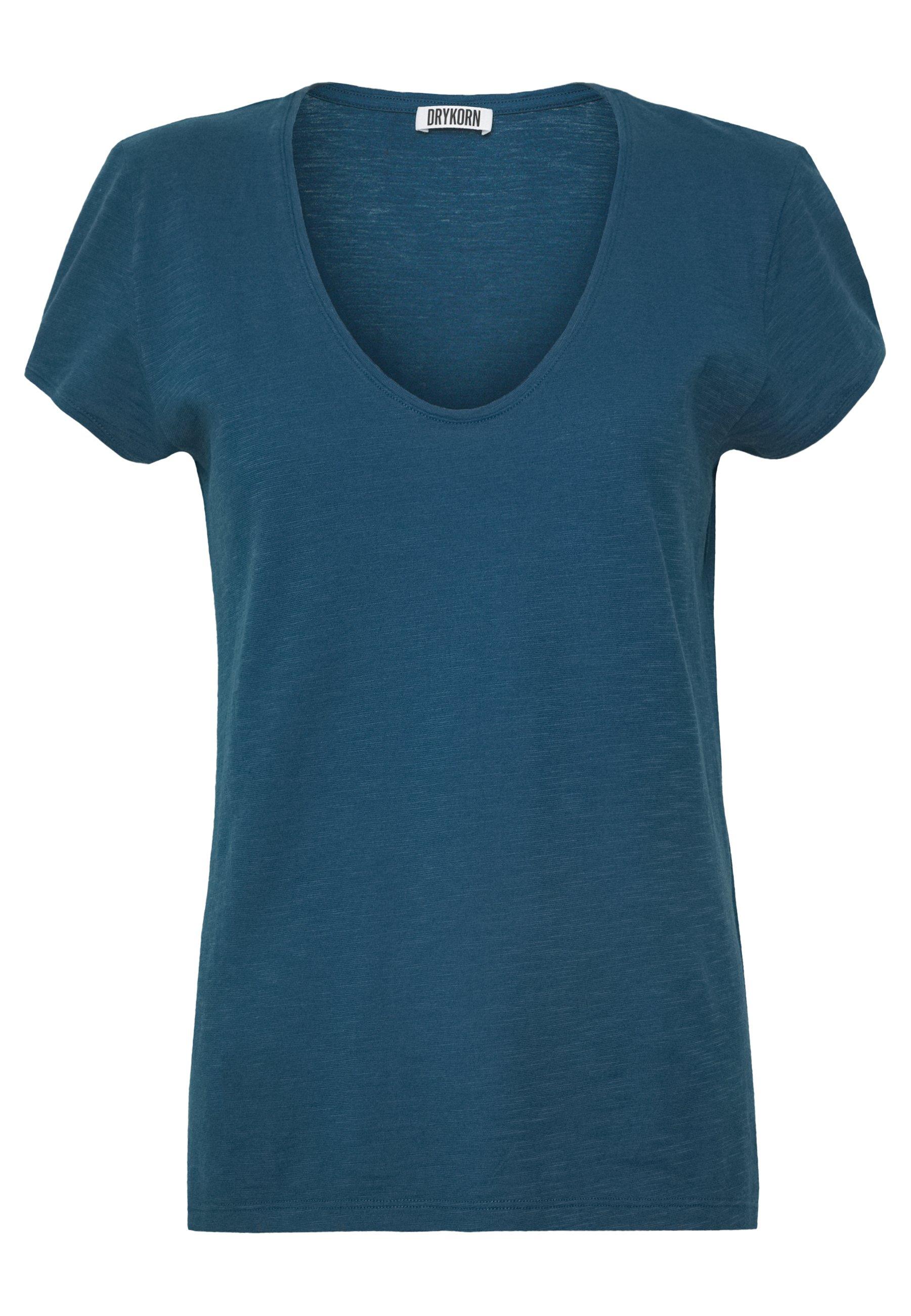 DRYKORN AVIVI - T-shirt basic - petrol