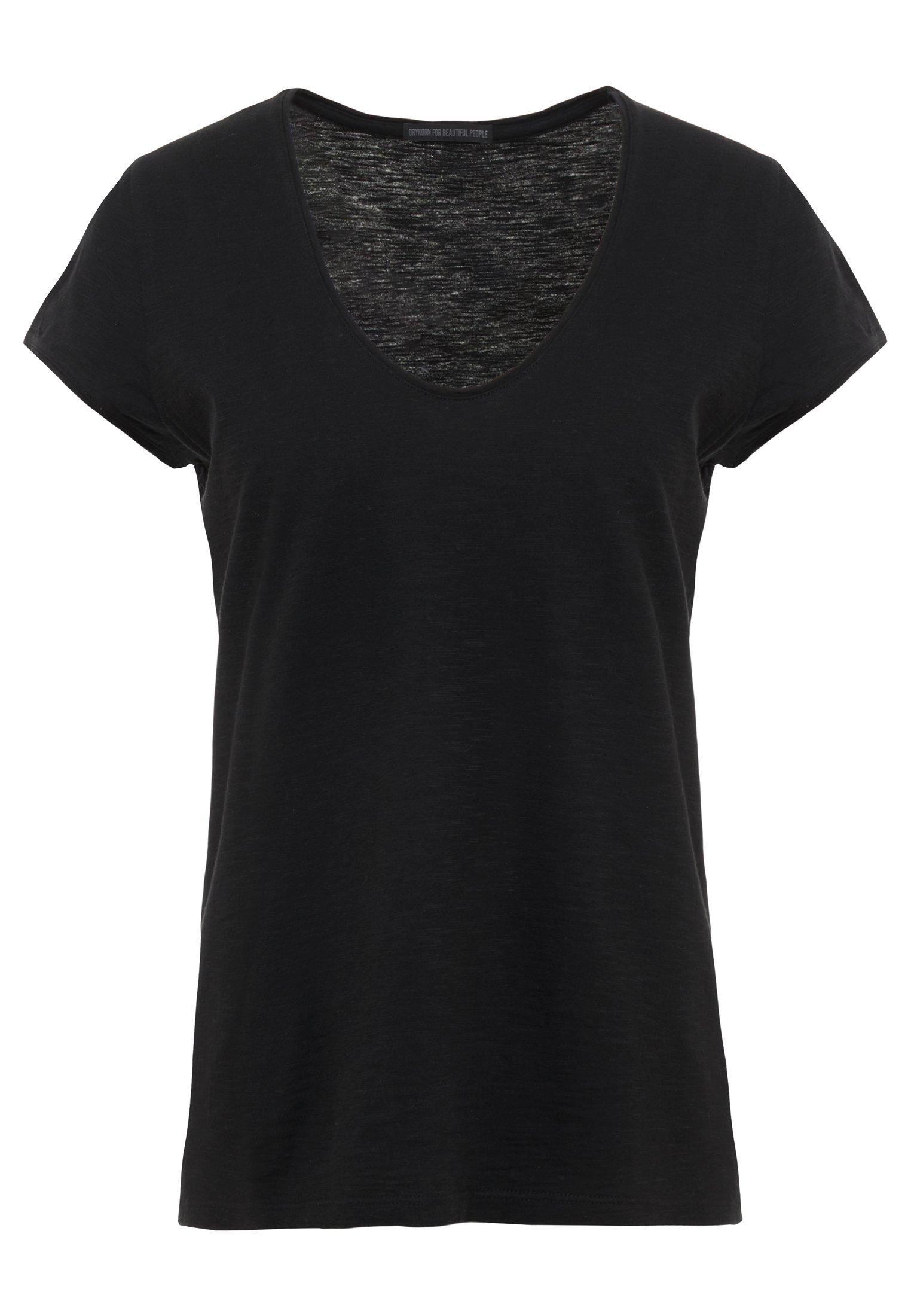 DRYKORN AVIVI - T-shirt basic - black