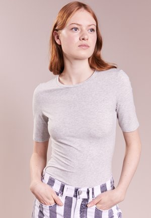 SARINA - Basic T-shirt - light grey melange