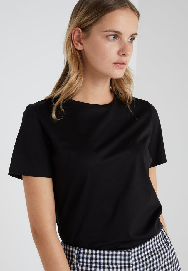 ANISIA - Basic T-shirt - schwarz