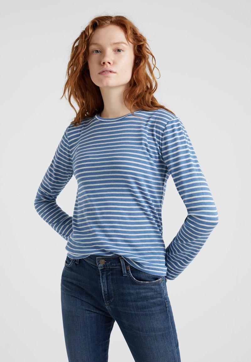 DRYKORN - LEALIA - Langarmshirt - blau