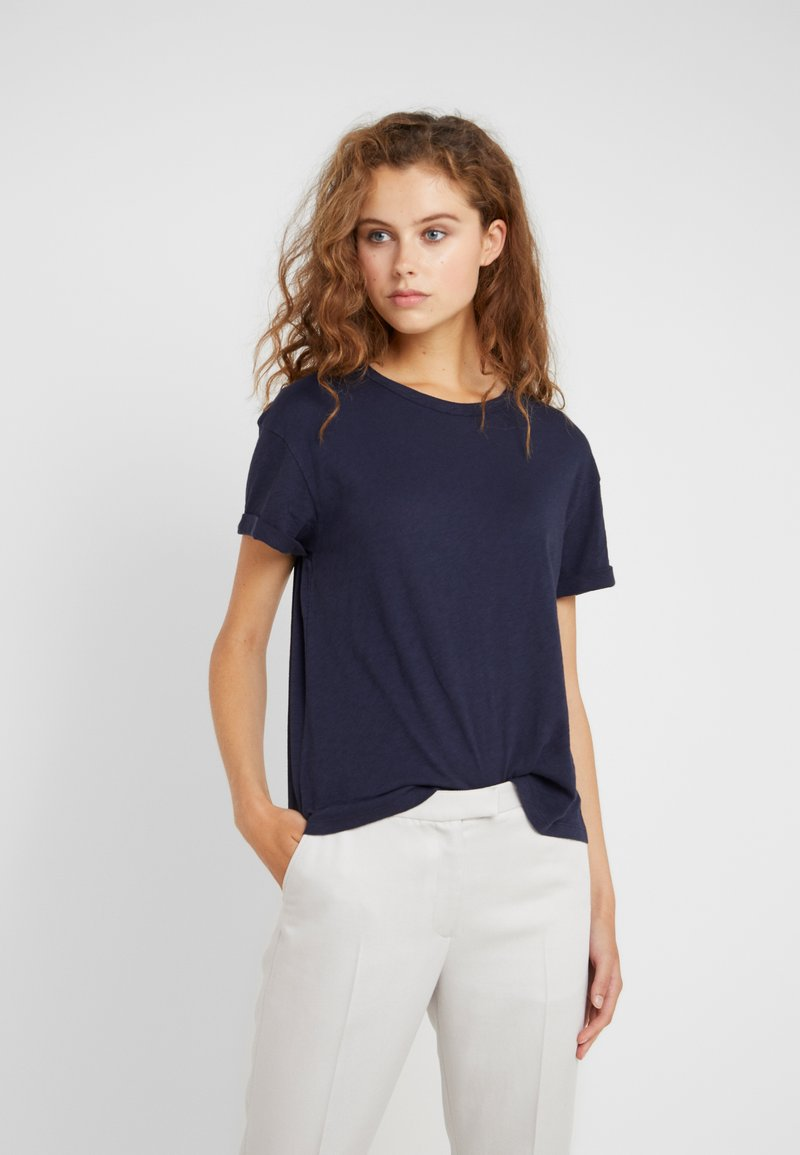DRYKORN - LARIMA - Jednoduché triko - blue