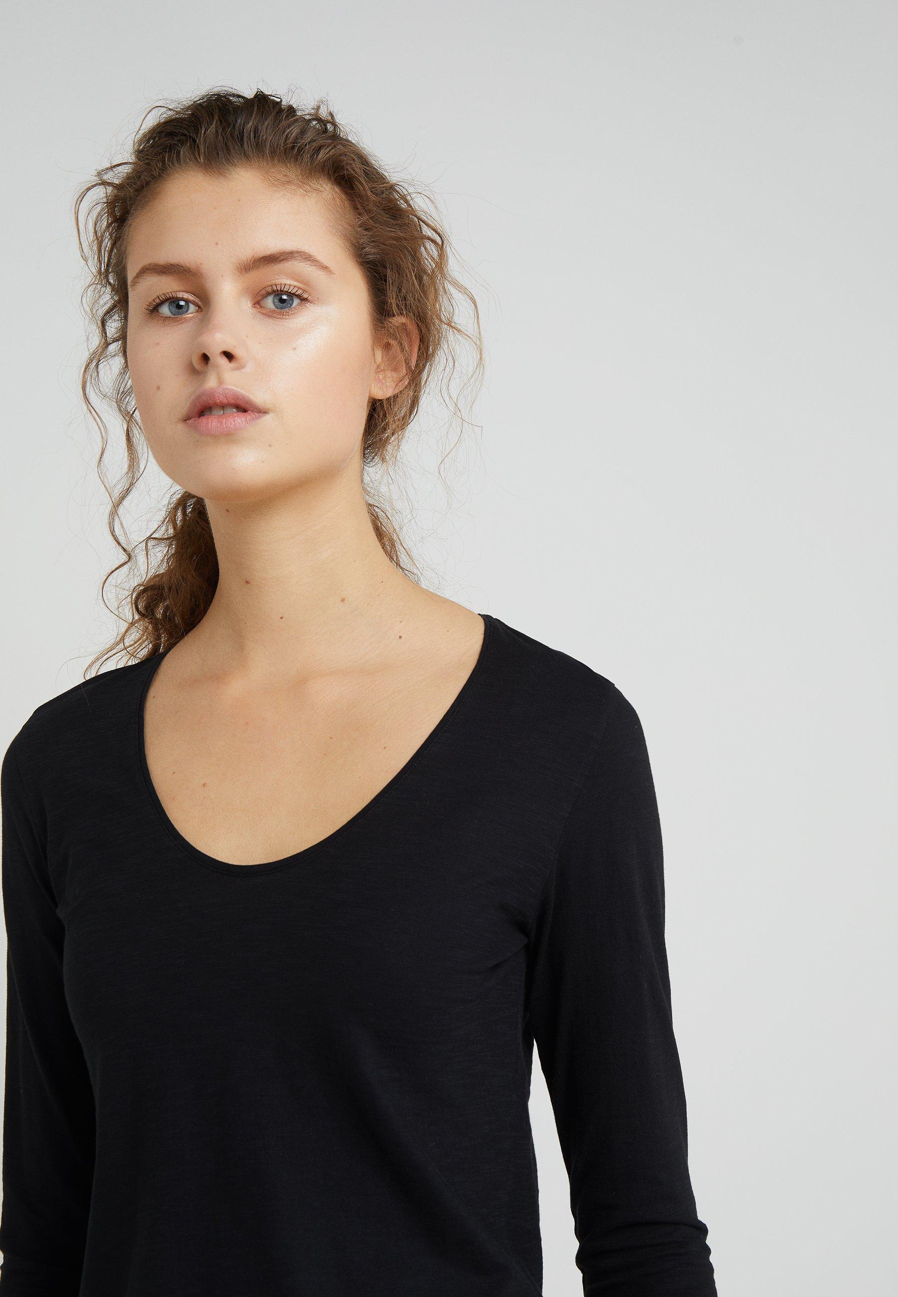 Drykorn Alesa - Långärmad Tröja Black