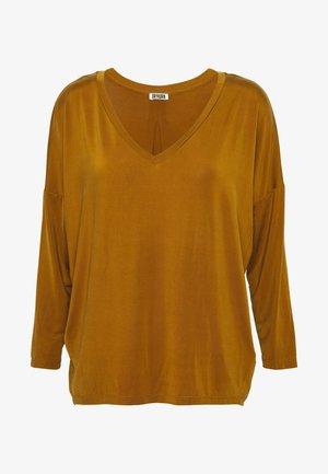 VENJA - T-shirt à manches longues - mustard