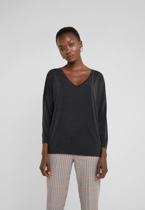 VENJA - Long sleeved top - black
