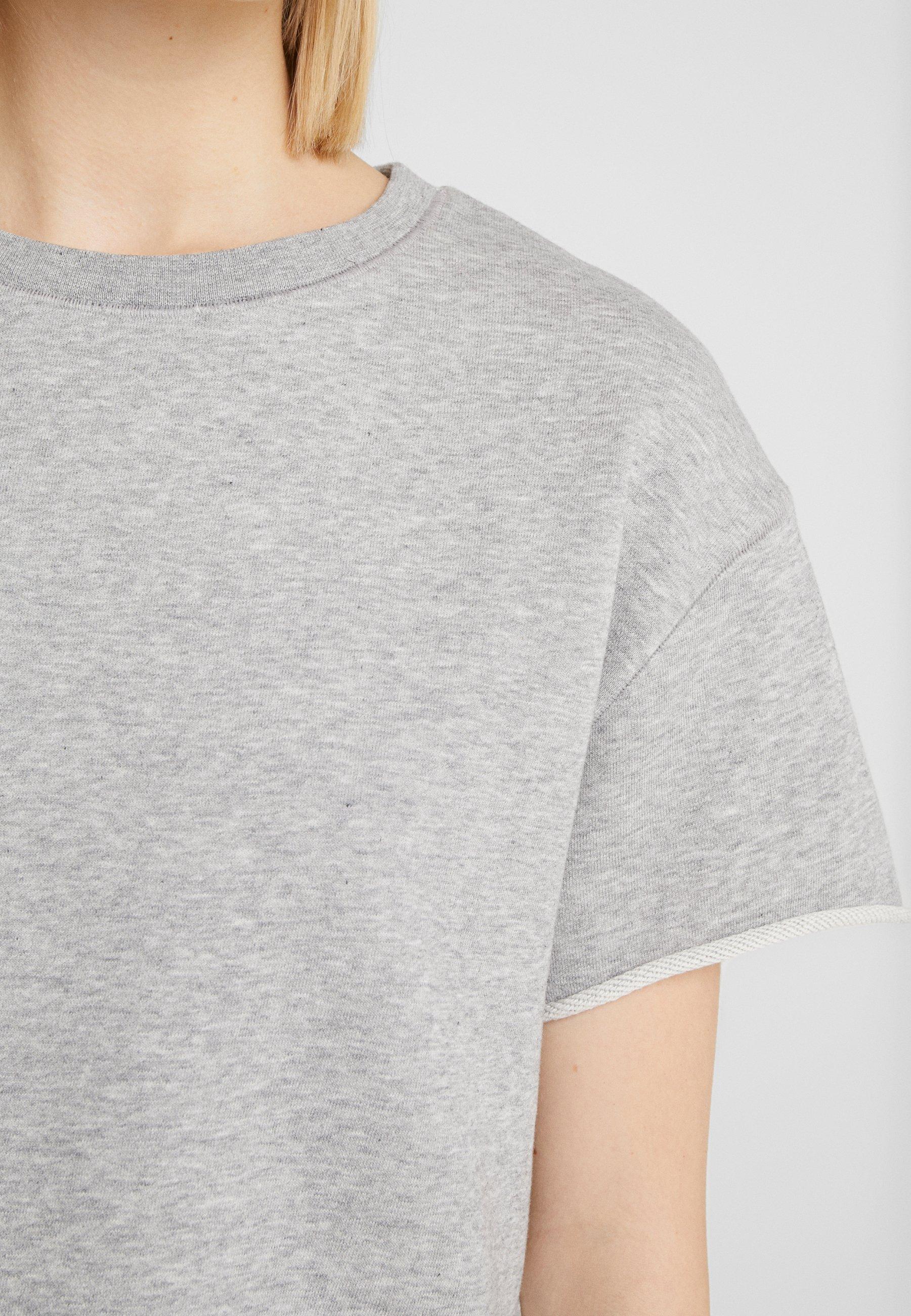 DRYKORN LUNIE - T-shirt basic - grey melange