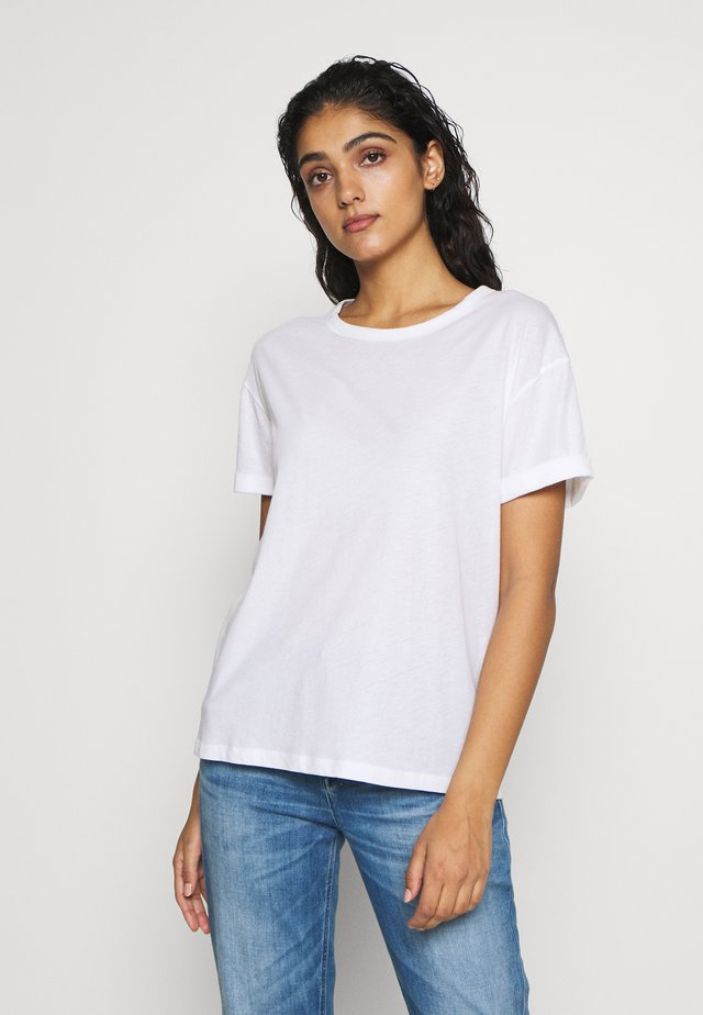 LARIMA - T-shirt basic - white