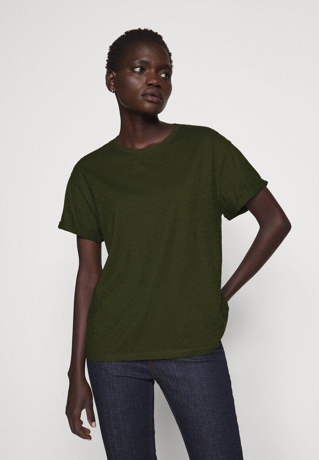 LARIMA - T-Shirt basic - olive