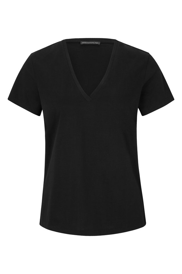 NILIA - T-shirt basic - black