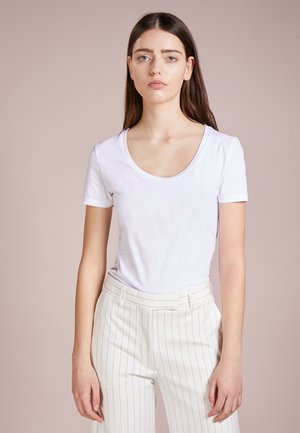 NATINA - Jednoduché triko - white