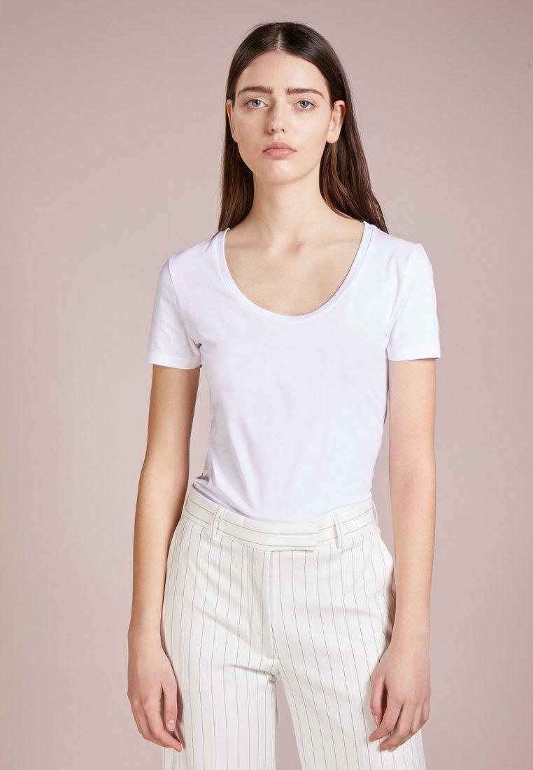 DRYKORN - NATINA - T-shirt - bas - white