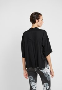 DRYKORN - THERRY - Button-down blouse - black - 2