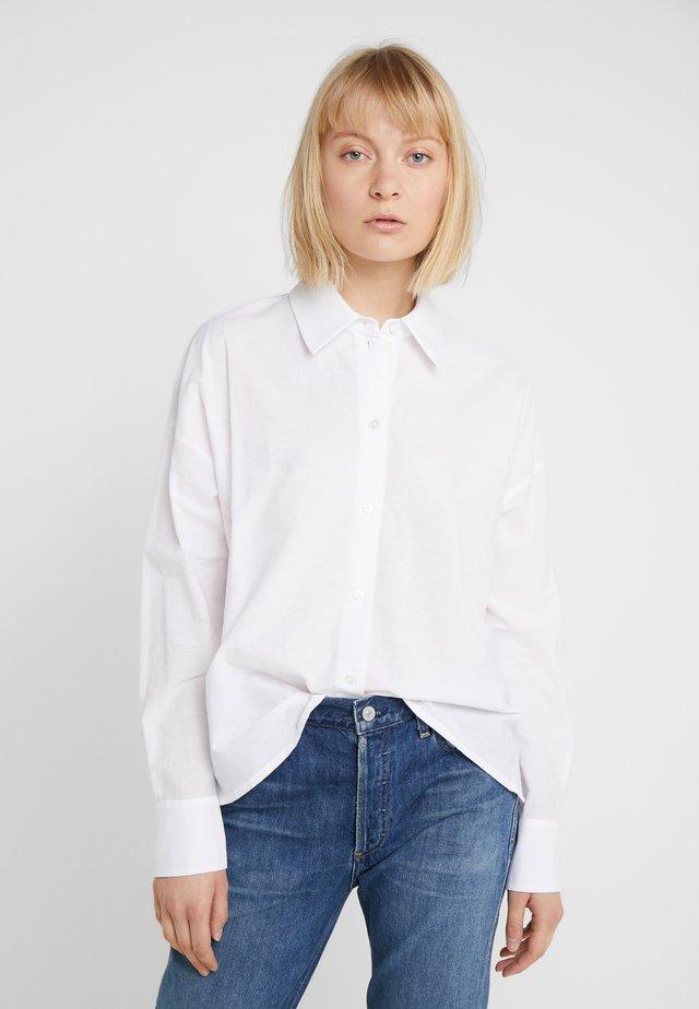 CLOELIA - Button-down blouse - white