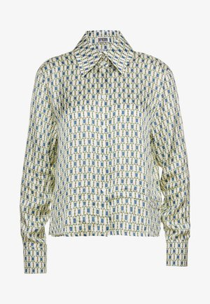 CHARLAD - Blouse - offwhite/blue