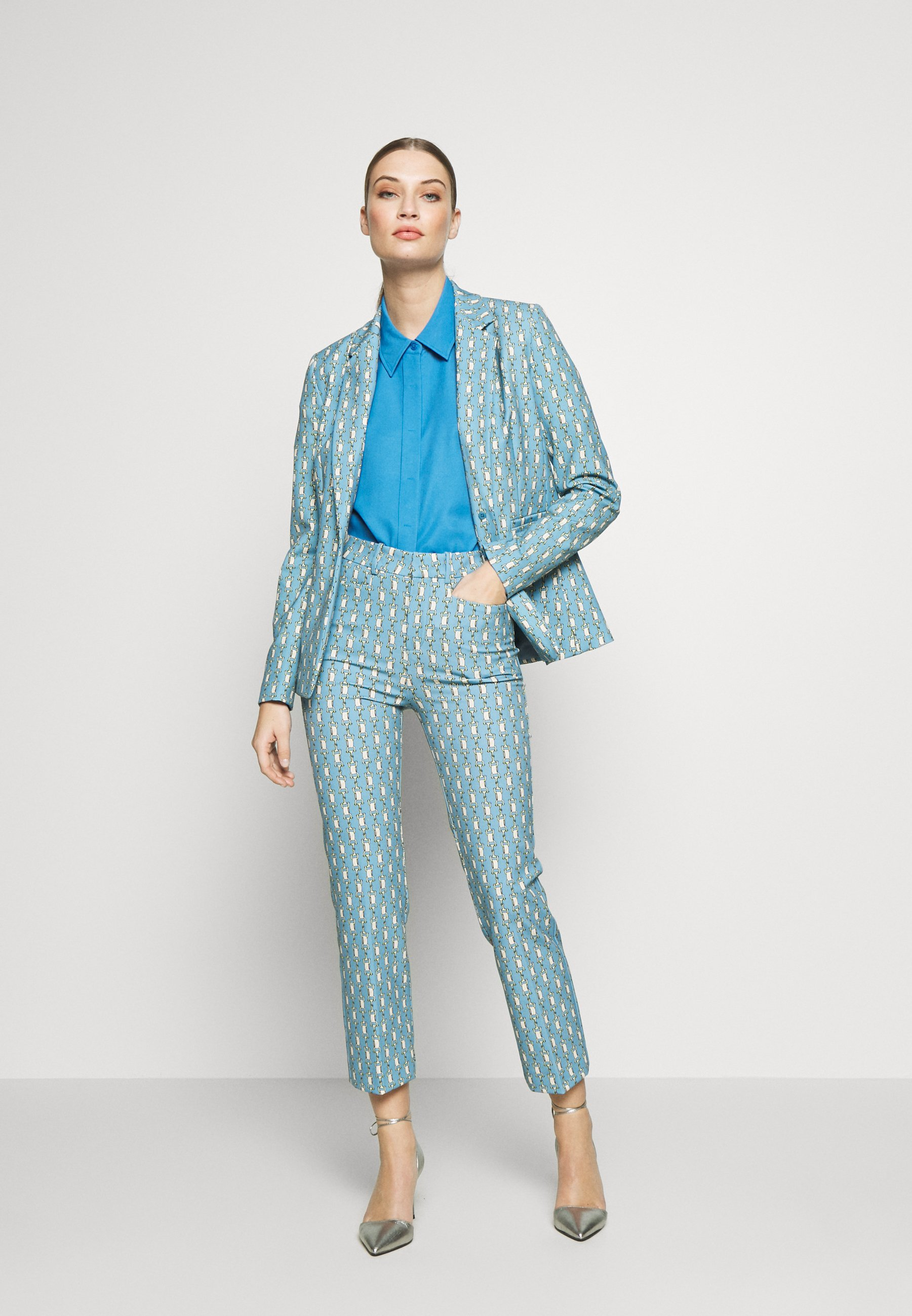 DRYKORN THERRY - Camicia - blue