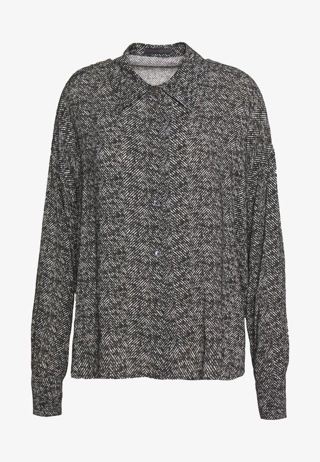 CLOELIA - Button-down blouse - grau