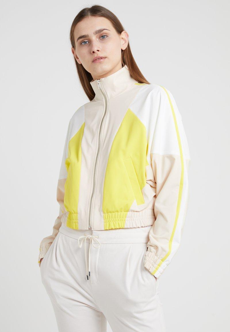 DRYKORN - BOTTON - Strickjacke - yellow/white