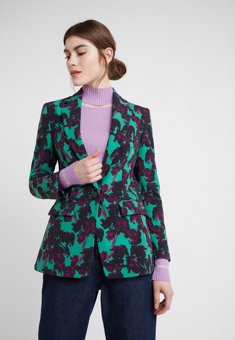 DRYKORN - ATLIN - Blazer - green/violet