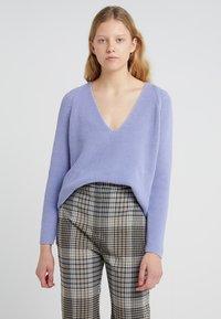 DRYKORN - SABIJA - Sweter - light blue - 0