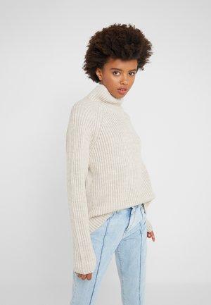 ARWEN - Stickad tröja - oat