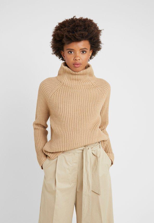 ARWEN - Stickad tröja - beige