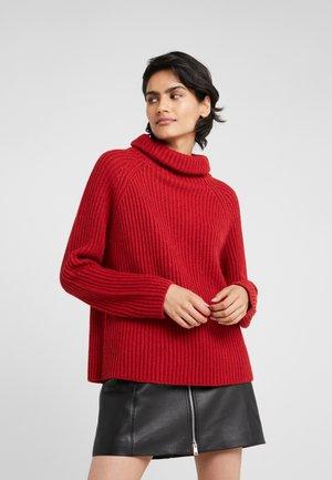 ARWEN - Strickpullover - red